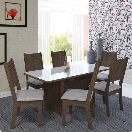 Mesa-com-6-Cadeiras-Charm-150-Noce-Off-White---Indekes
