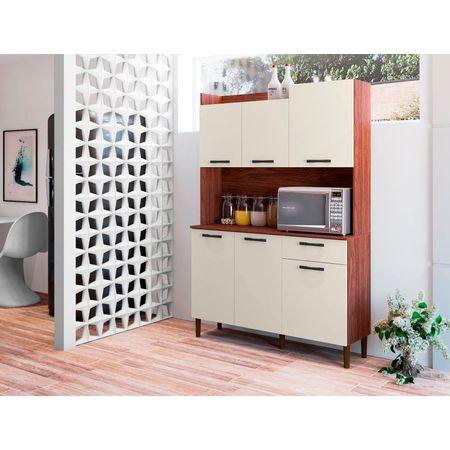 Kit-Cozinha-Genova-6-Portas-Nogueira-Off-White-8907-Kits-Parana