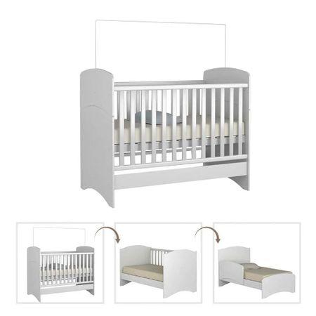 Berco-Multifuncional-Infantil-Branco-1D3055-Moveis-Rodial
