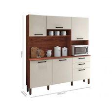 Cozinha-Ferrara-Nogueira-Off-White-5-Portas-3-Gavetas-8907-Kits-Parana