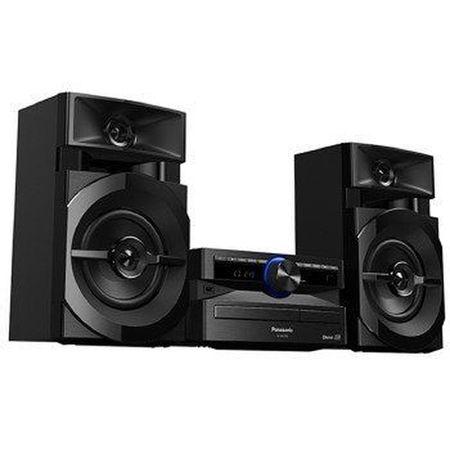Mini-System-Panasonic-SC-AKX100LBK-com-Bluetooth-Radio-FM-e-Entrada-USB-250W