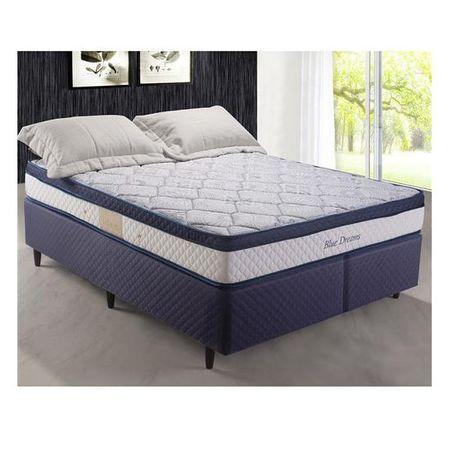 Cama-Box-King-Casal-Blue-Dreams-193x203x64-Cm-Molas-Pocket---Herval