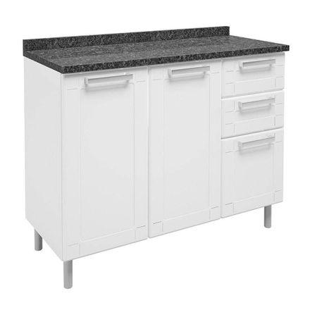 Balcao-de-Cozinha-3-Portas-2-Gavetas-6114-Multipla-Branco-Bertolini