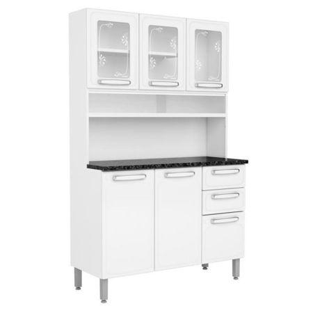 Kit-Cozinha-Compacta-Multipla-Aco-6-Portas-6142-Branco---Bertolini