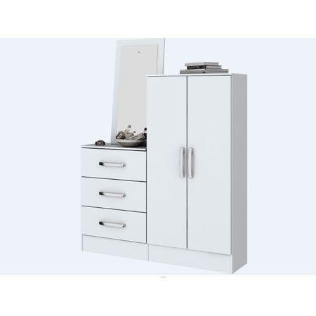 Comoda-Multiuso-2-Portas-E-3-Gavetas-B700-Briz-Branca-Henn