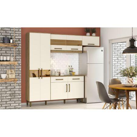Kit-De-Cozinha-Henn-Briz-B116-Com-tampo-Rustico-off-White-Henn