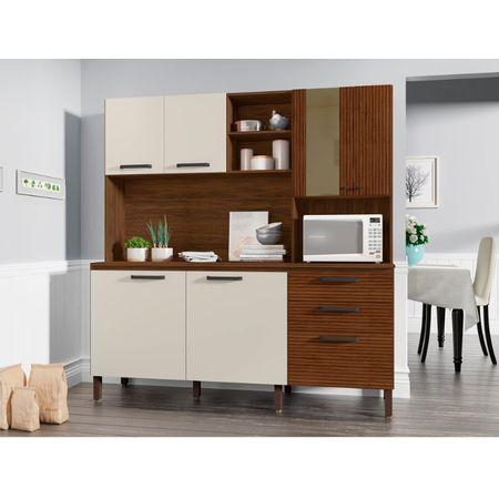 Cozinha-Mega-7-Portas-E-2-Gavetas-Com-Tampo-8930-Nogueira-Off-White-Ripado-Kits-Parana