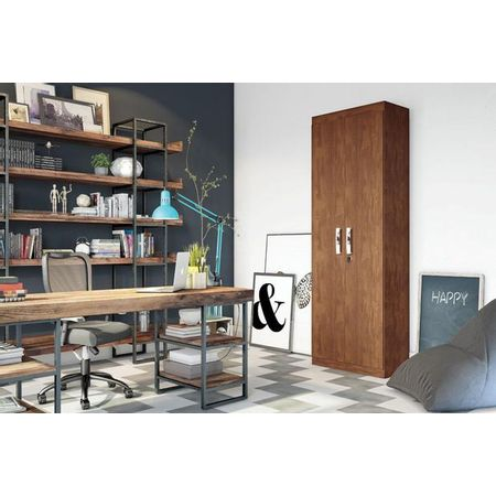 Organizador-Delta-New-02-Portas-Canela-Lukaliam-Moveis