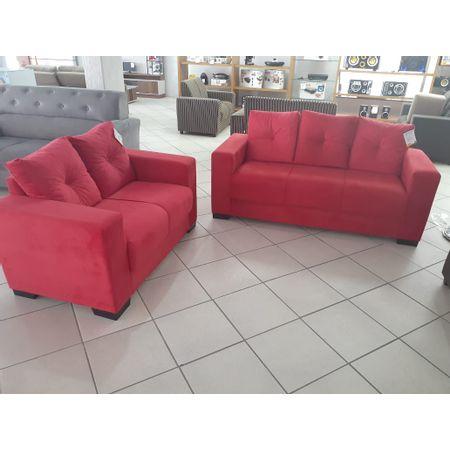 Conjunto-Sofa-2-E-3-Lugares-Tecido-Animali-Vermelho-Las-Vegas-Master