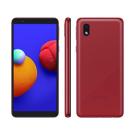 Smartphone-Samsung-Galaxy-A01-Core-Vermelho-32gb-Camera-Traseira-8mp-Android-Go-10.0-A013m