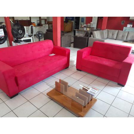 Conjunto-Sofa-2-E-3-Lugares-Tecido-Animali-Vermelho-Inglaterra-Master