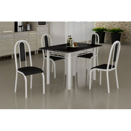 Mesa-Madmelos-Com-4-Cadeiras-Tampo-Ardosia-Indiano-Preto-120-075-Cad-Tecido-Silver-24-Branco