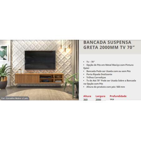 Bancada-Com-Pes-Dj-Moveis-Greta-Para-Tv--70-Polegadas-Carvalho-Nobre