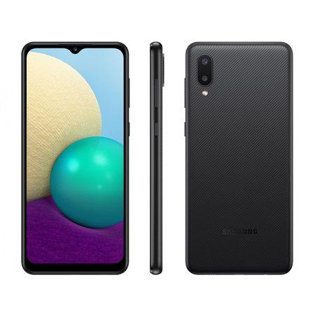 Smartphone-Samsung-Galaxy-A022-A02-32gb-Preto-Tela-6.5--Camera-Dupla