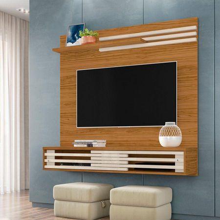 Bancada-Suspensa-Frizz-Sublime-Para-Tv-55-Pol.-Naturale-Off-White-Profissional-Decor-Madetec