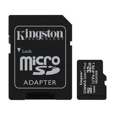 Cartao-De-Memoria-Kingston-Microsd-De-32gb-Canvas-Select-Plus-Classe-10-Com-Adaptador