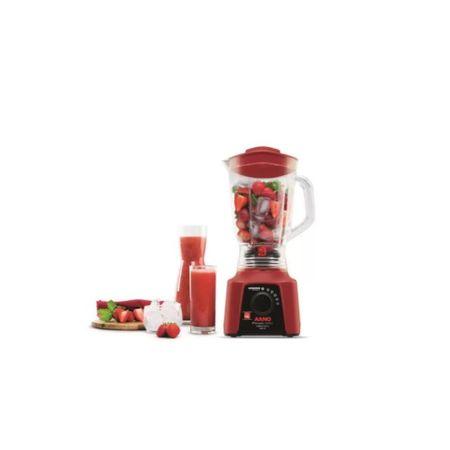 Liquidificador-Arno-Power-Mix-Lq30-Com-Funcao-Pulsar-550w-Vermelho