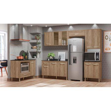 Cozinha-Compacta-Fit-Com-Balcao-Fit-1200-Carvalho-Rustico-Nicioli