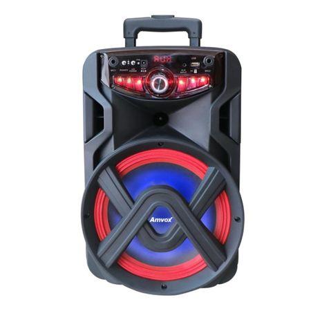 Caixa-De-Som-Amplificada-Amvox-Aca-250-Groove-250w-Bluetooth-Usb-Radio-Fm-Micro-Sd-Tws-Bateria